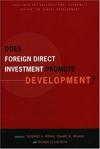 Image for Does Foreign Direct Investment Promote Development? New Methods, Outcomes and Policy Approaches