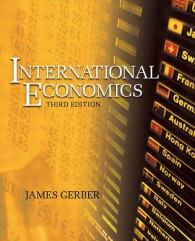 Image for International Economics (3rd Edition) (Addison-Wesley Series in Economics)