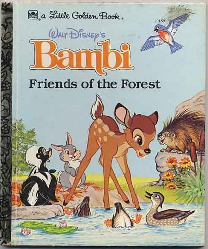 Image for Walt Disney's Bambi: Friends of the forest (A Little golden book)